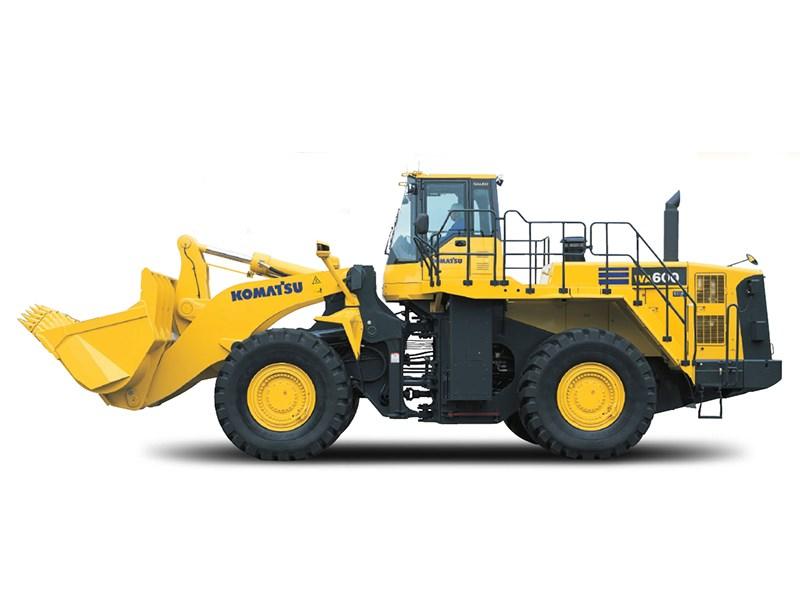 new komatsu wa600 6 loaders for sale rh tradeearthmovers com au