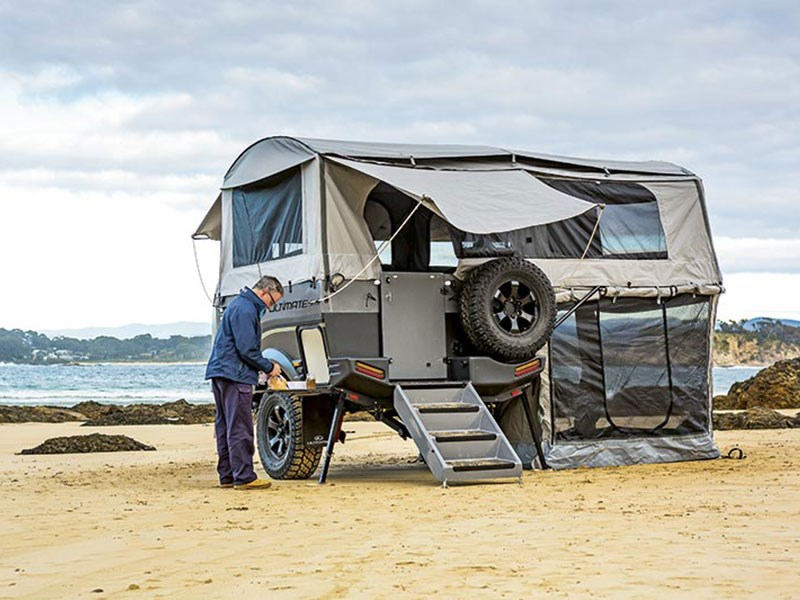 Brilliant After A Frustrating Camping Experience In Moab, Utah, Keith And Teresa Evans Envisioned The Ultimate Base Camp For Their Polaris  Theres Something You