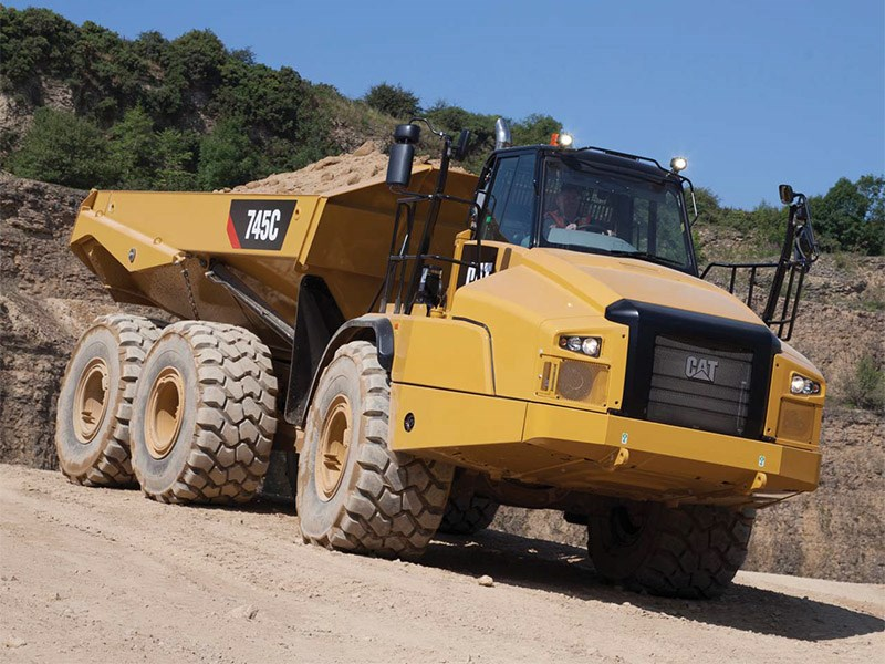 New Caterpillar 745c Trucks For Sale