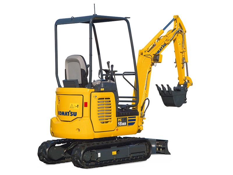 New Komatsu Pc18mr 3 Excavators For Sale