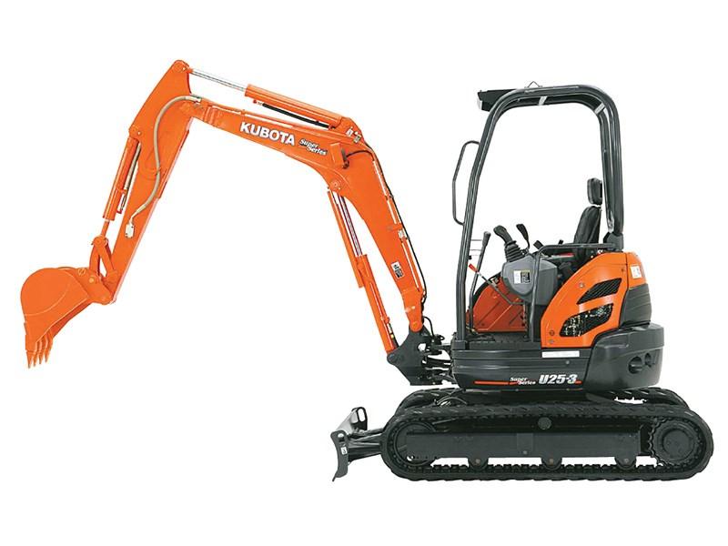 Kubota Mini Excavator For Sale >> New KUBOTA U25-3S Excavators for sale