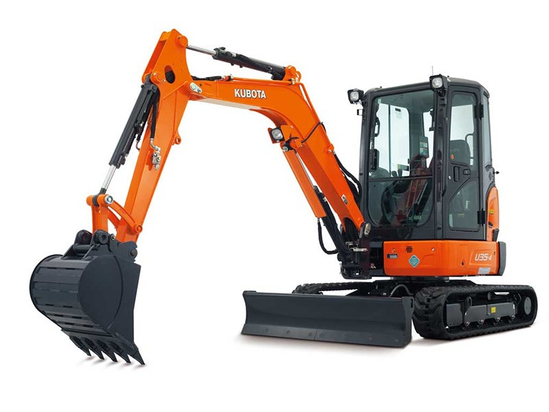 New Kubota U35 4 Excavators For Sale