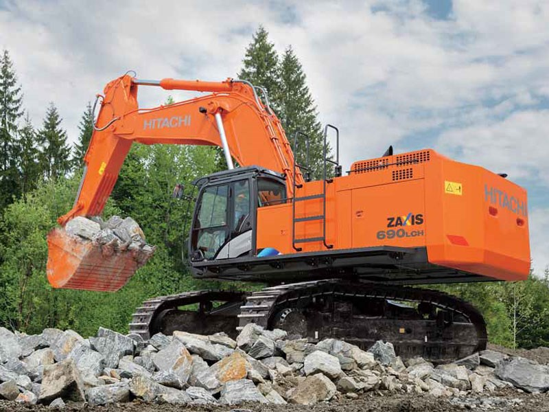 New Hitachi Zx690lch 5 Excavators For Sale