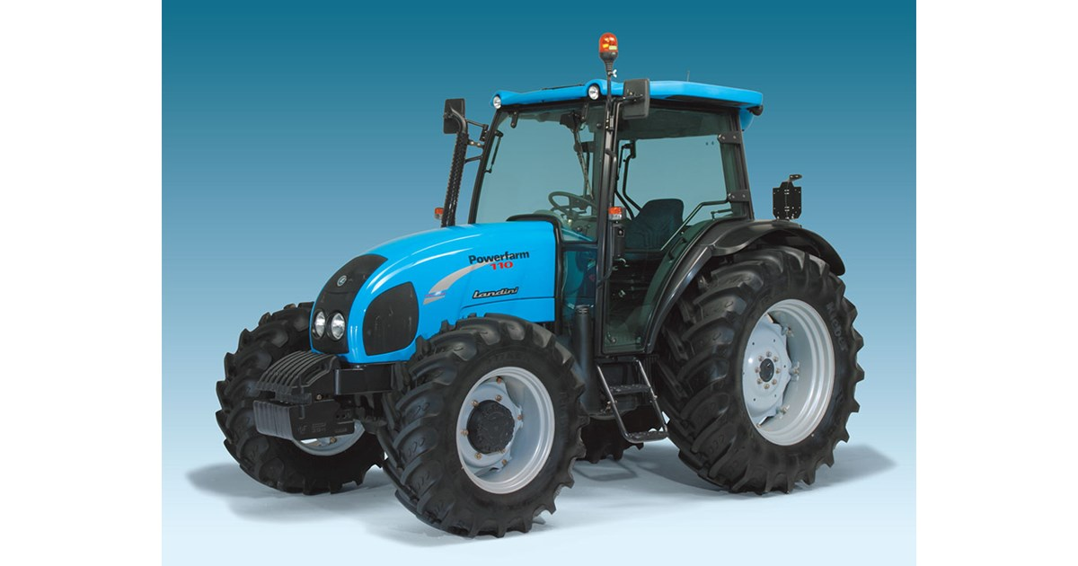 New LANDINI POWERFARM 110 CAB Tractors for sale
