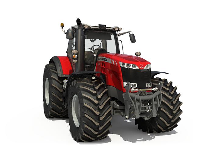 Massey Ferguson 8700 Series Tractors