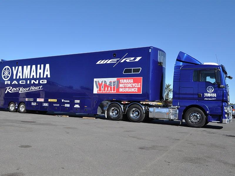 Unwraping Yamaha Racing Team S New Rig News