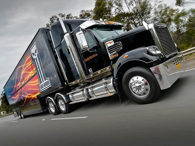 custom harley davidson freightliner coronado truck review review. Black Bedroom Furniture Sets. Home Design Ideas