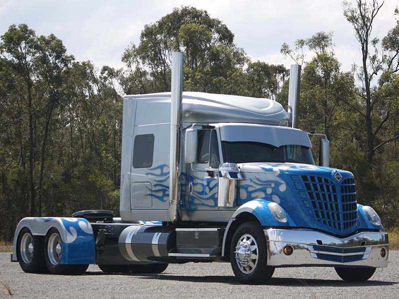 Truck Show Beauty Reviewing The International Lonestar Blade Review