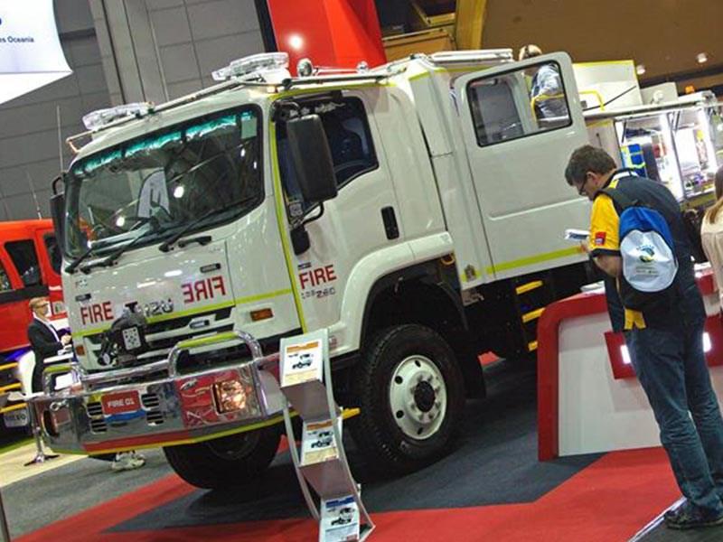Isuzu Australia shows off firefighting concept  News