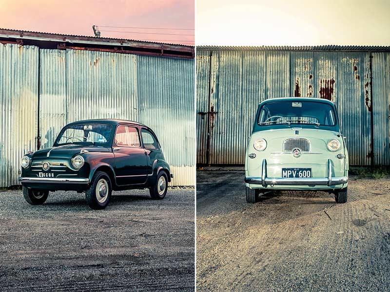 Fiat 600 And Multipla