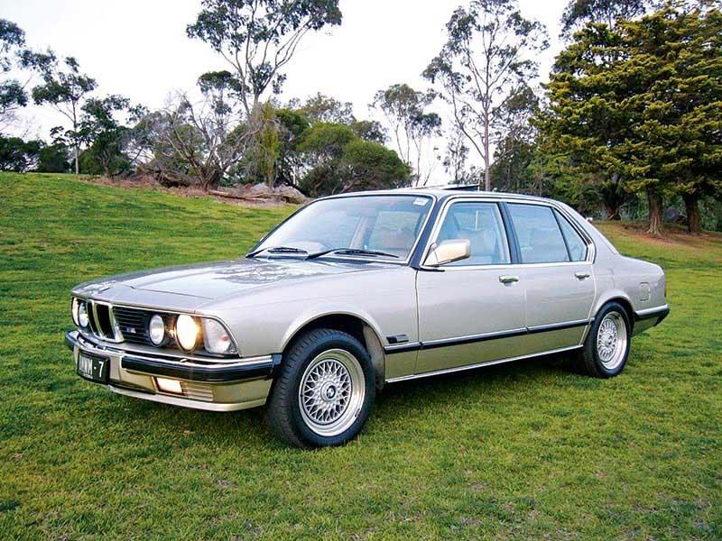 BMW 745i SA E23 Series