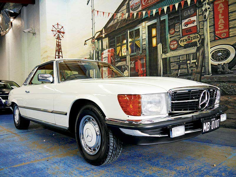 Mercedes 450sl review