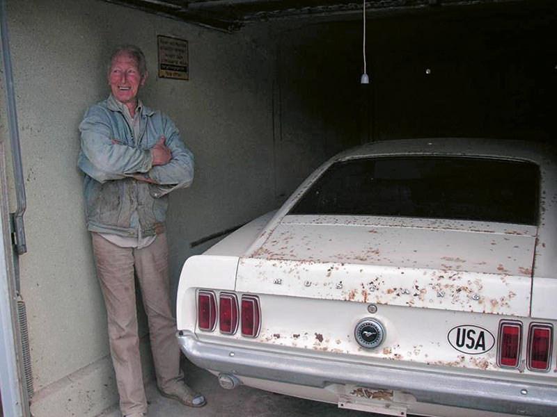 Barn Find Boss 429 Mustang