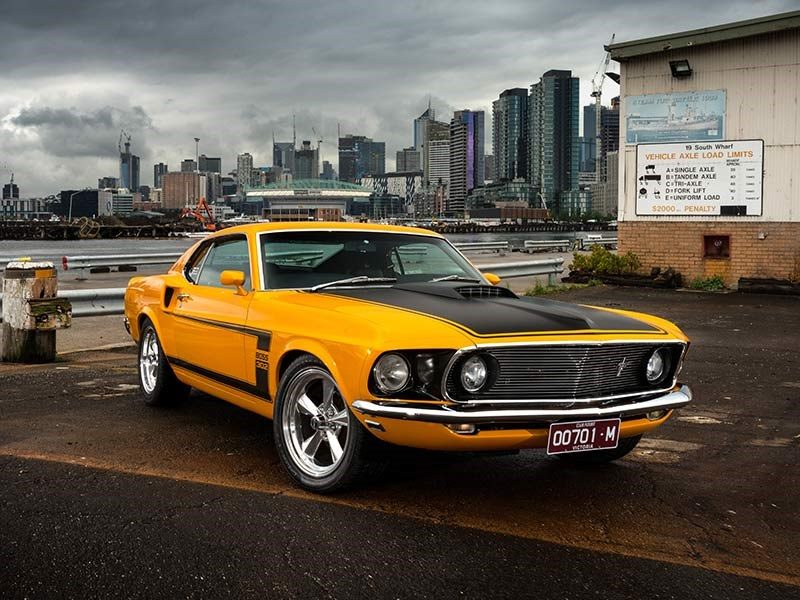 1969 Ford Mustang Fastback Past Blast