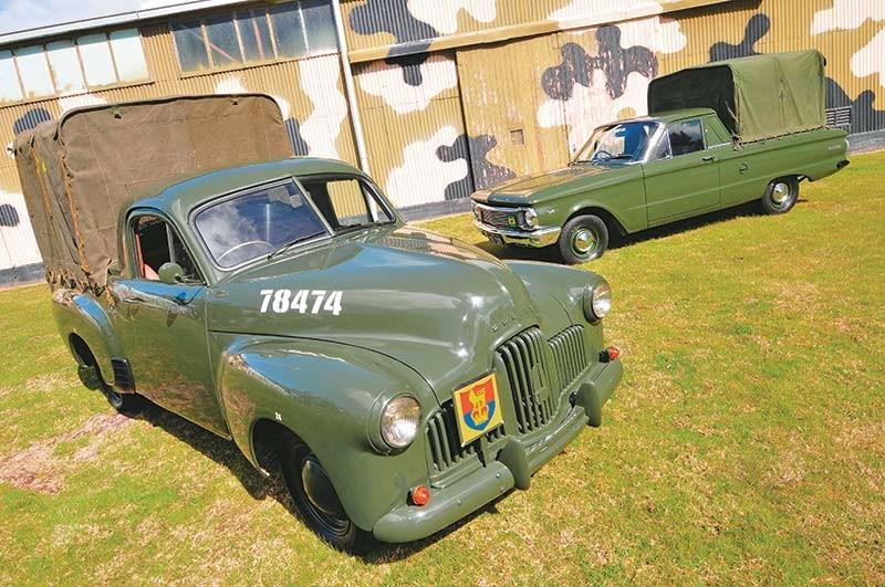 Falcon Xp Amp Holden Fx Rare Aussie Ex Army Utes