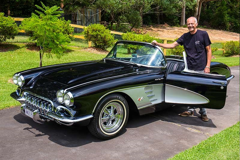 1958 Chevrolet Corvette C1 Reader Resto