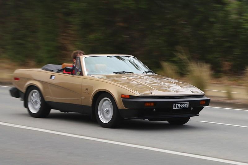 triumph tr convertible review