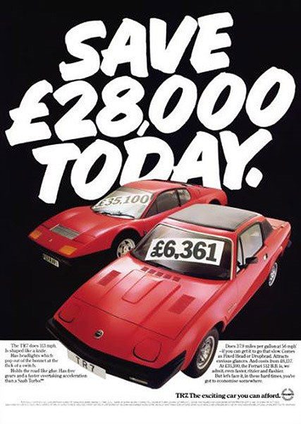 You Cant Say That Classic Car Ads Part - Classic car ads