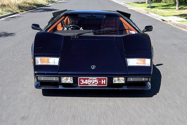 1983 Lamborghini Countach Lp5000s Review Past Blast