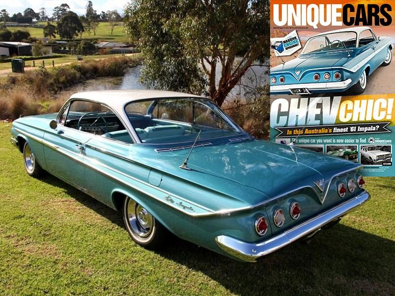 CHEVROLET 1961 Sales Brochure 61 Chevy