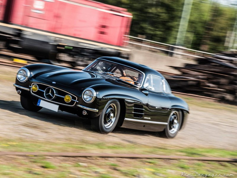 STOLEN: Unique Mercedes Benz 300SL Gullwing Pinched From Nurburgring Hotel