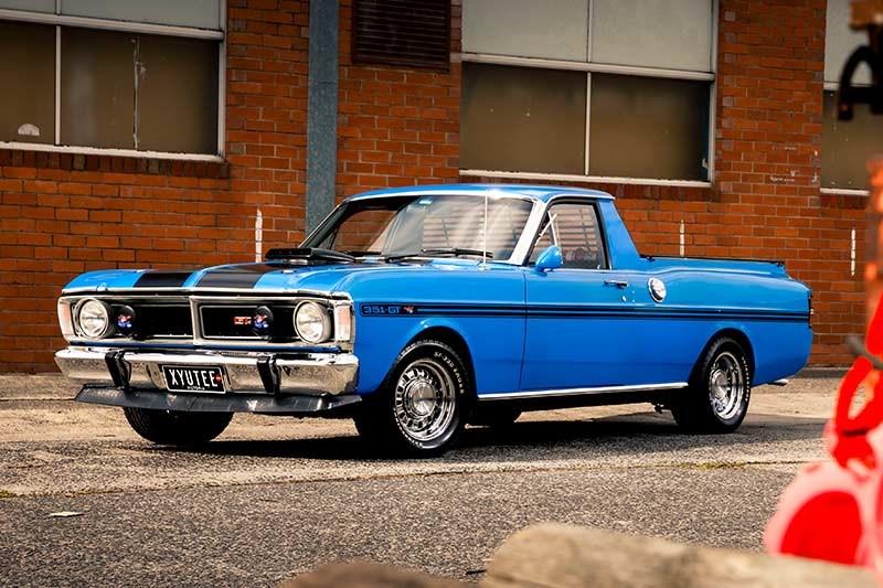 1970 Ford Falcon XY Ute - Reader Resto