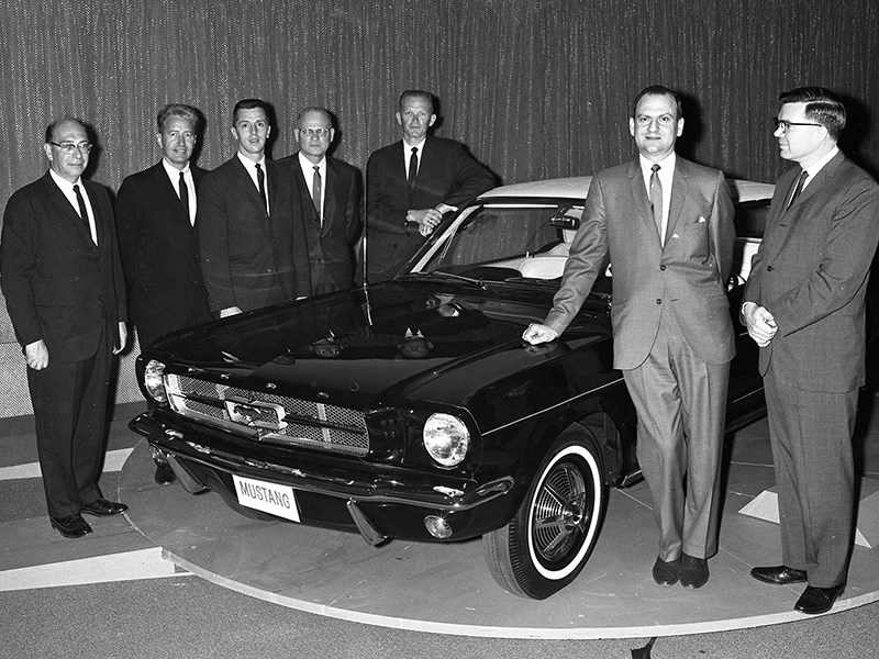 Lee Iacocca Mustang >> Farewell Lee Iacocca Father Of The Mustang