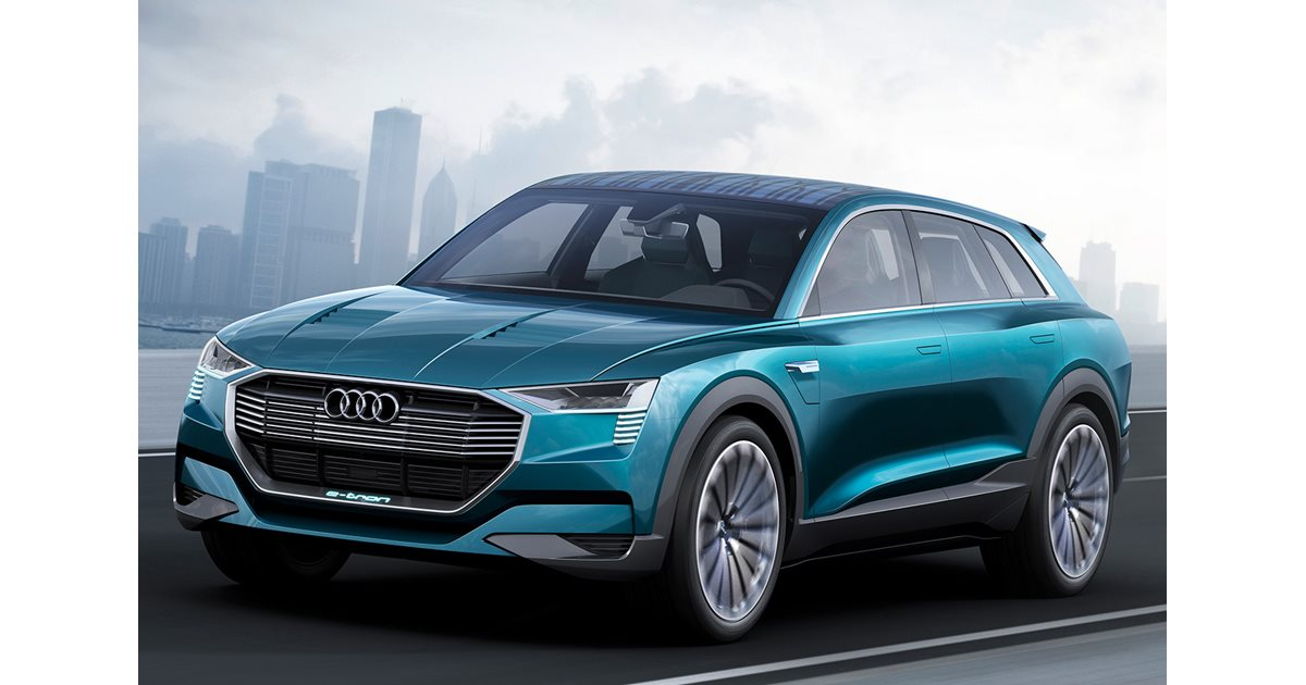 Audi Points To Q6 E Tron With Electric Quattro Suv