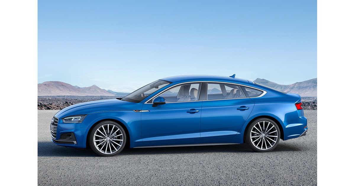 2017 Audi A5 and S5 Sportback revealed