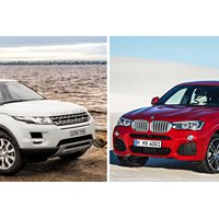 head to head range rover evoque vs bmw x4. Black Bedroom Furniture Sets. Home Design Ideas