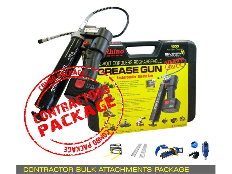 other auger drive unit - contractors bulk attachments package [8 items] [attcombo] 237145 006