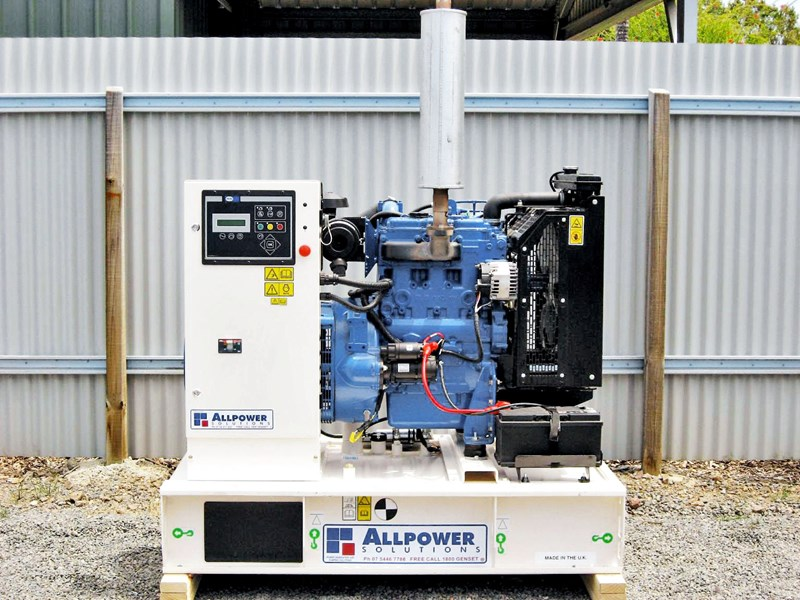 perkins 40kva powered generator 55724 001