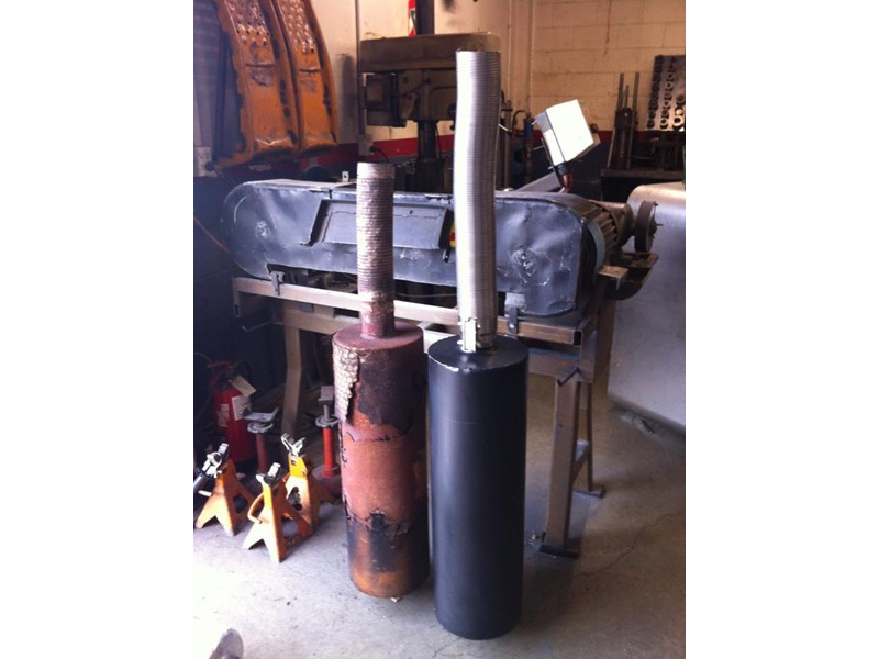 unknown any scissor lift muffler 56479 002