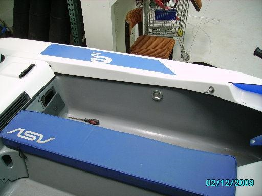 custom craft asv model e2 57034 012