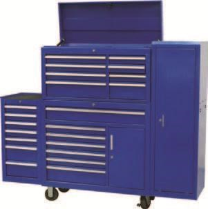 tool chests ich-8d + irc-7d + isl-2d + isc-7d - industrial series tool chest & roller cabinet with side locker & side cabinet package 109016 001
