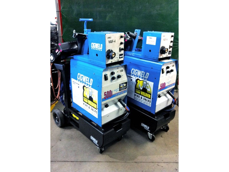 cigweld hire multiprocess inverter 500i very competitive. 112682 001