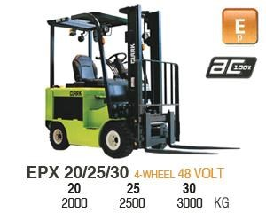 clark epx20 electric forklift 270472 001