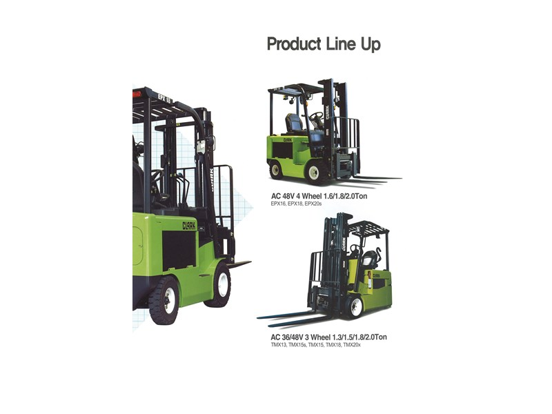 2015 Clark Tmx20x Electric Forklift For Sale