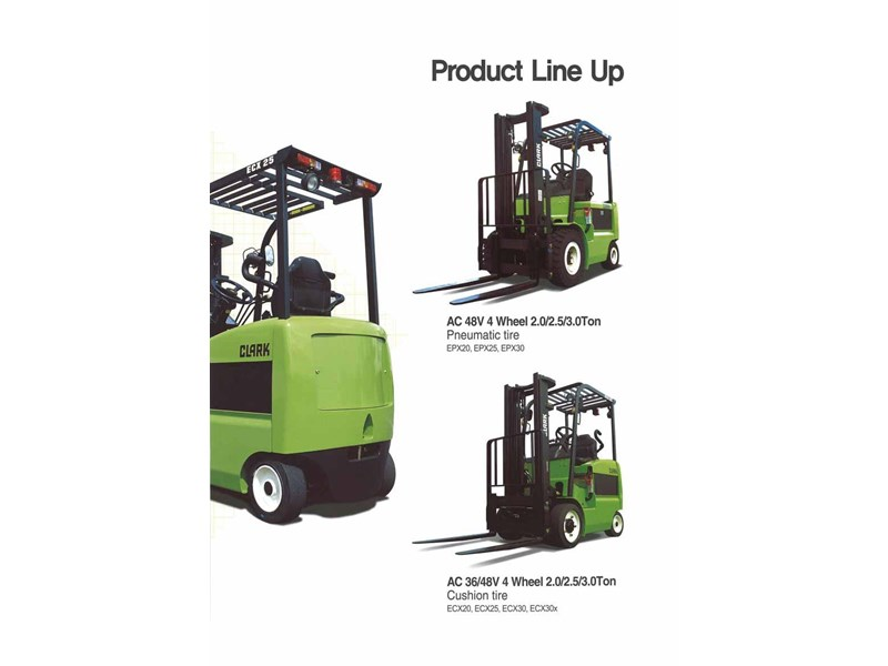 clark epx20 electric forklift 270472 004