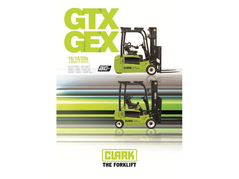 2015 Clark Gtx18 Electric Forklift For Sale