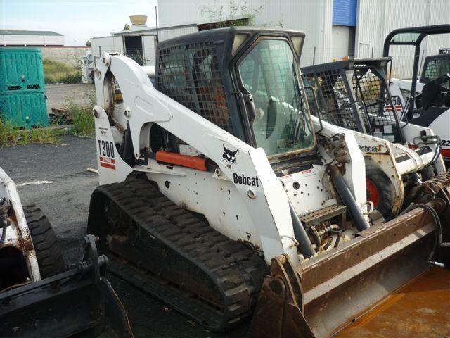 Bobcat t300 and mtl mower mulching - YouTube