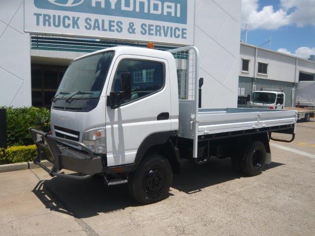 2009 MITSUBISHI CANTER 4X4 **CAR LICENCE** for sale | Trade Trucks