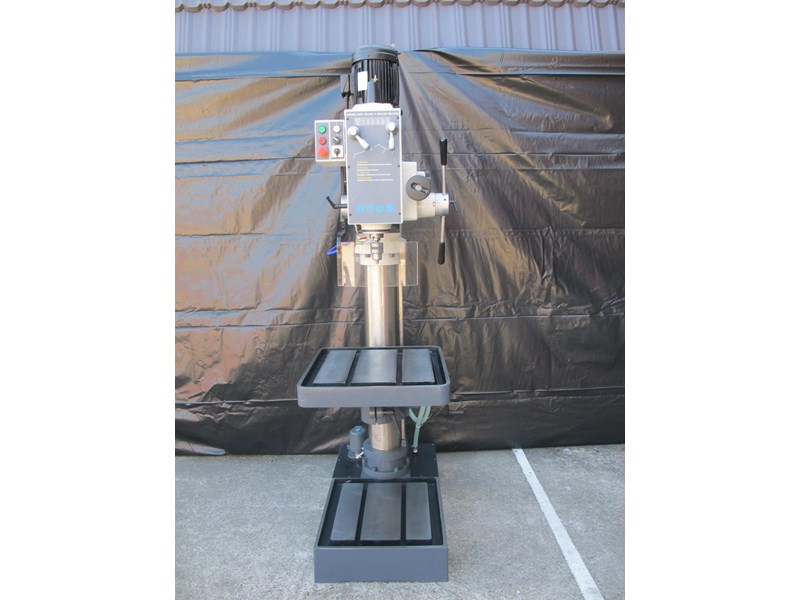 eximus taiwanese geared head pedestal drill, ø 50mm capacity 11692 002