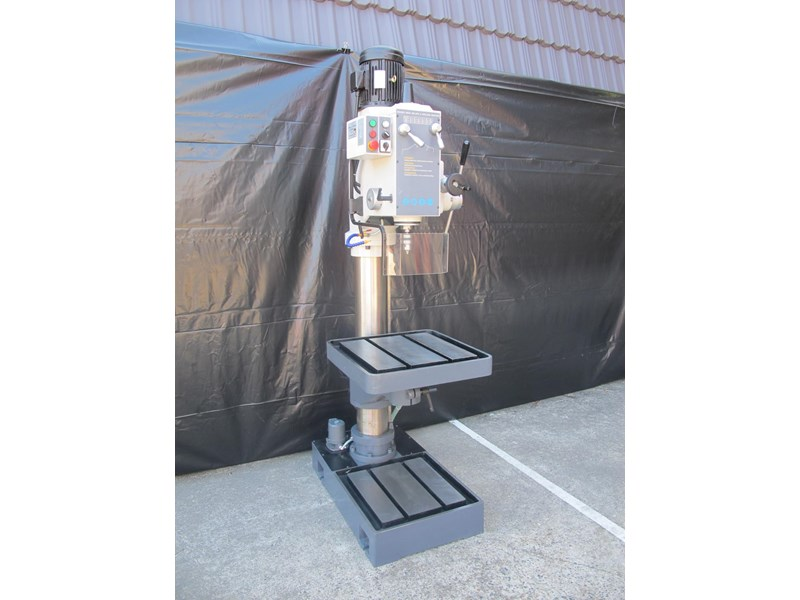 eximus taiwanese geared head pedestal drill, ø 50mm capacity 11692 003