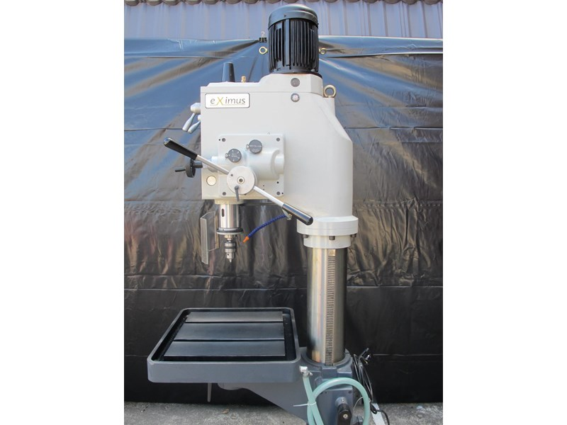 eximus taiwanese geared head pedestal drill, ø 50mm capacity 11692 009