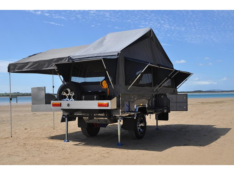 Cool New AUSTRALIAN OFF ROAD ODYSSEY Camper Trailers For Sale