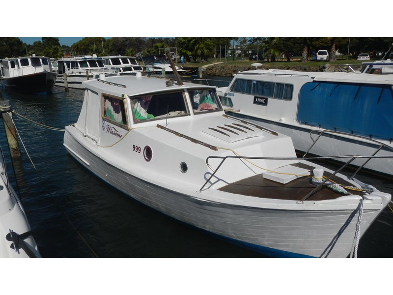 1934 Wooden Boat Swan River Cabin Cruiser For Sale Trade