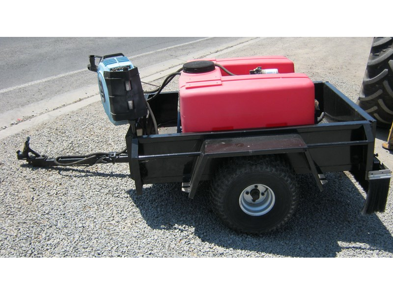 silvan spray unit mounted on trailer 336986 005