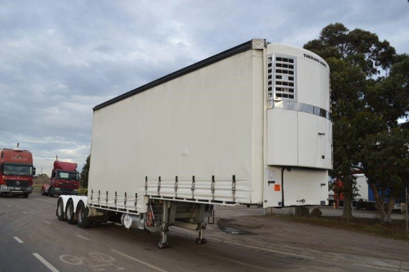 vawdrey st3 lead a 12pallet dd refrigerated curtain sider mezz 344229 001