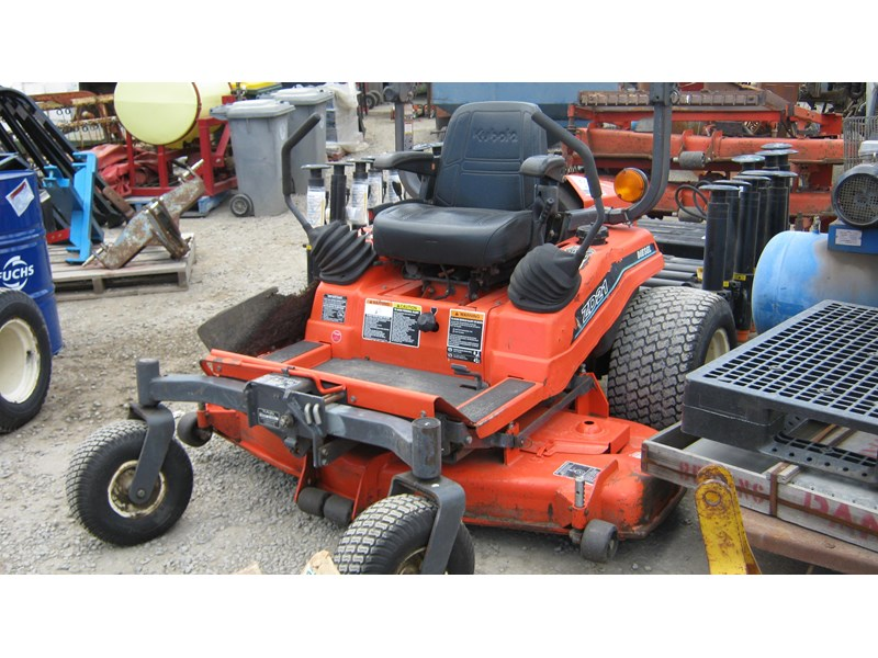 kubota zd21 ride on mower (2 of) 343968 008